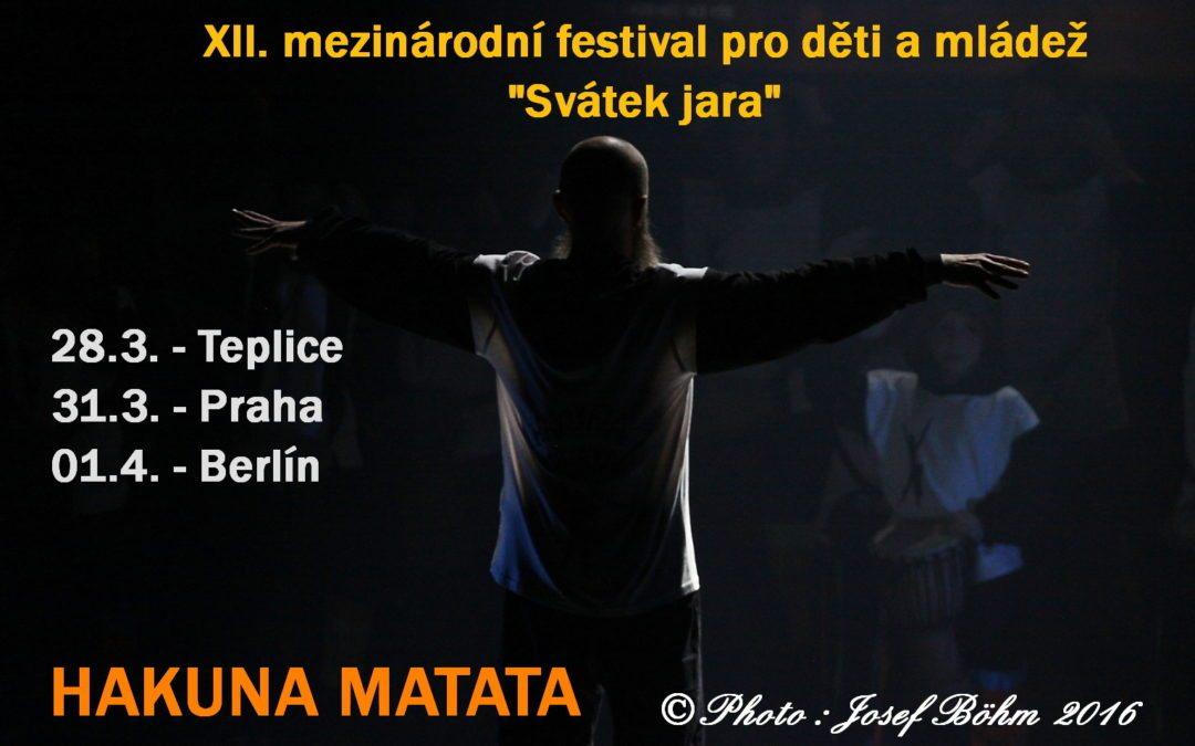 """XII. mezinárodní festival pro děti a mládež """"Svátek jara"""""""