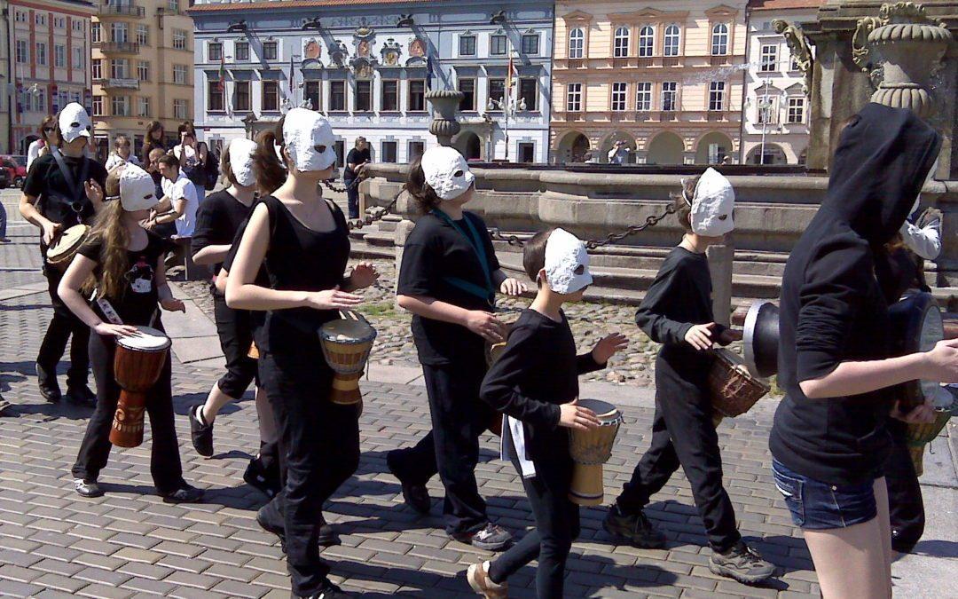 Pašijový pochod – Č. Budějovice 2011